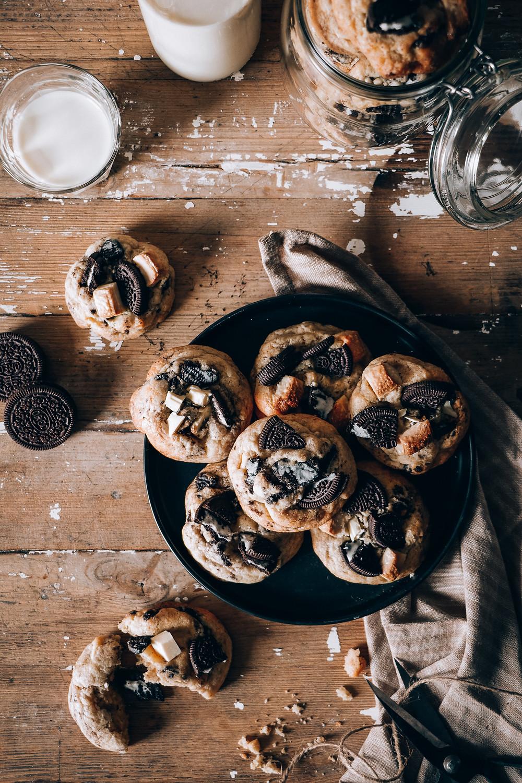 Cookies aux éclats d'Oréo, Elodie's Bakery