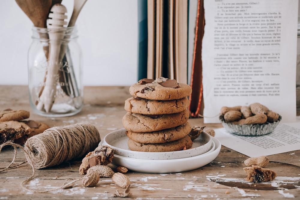Cookies chocolat cacahuète_Elodie's Bakery