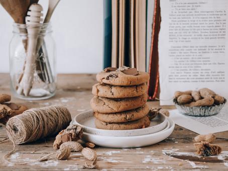 Cookies au beurre de cacahuète et chocolat noir