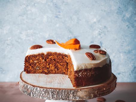 Carrot cake à l'huile d'olive et épeautre