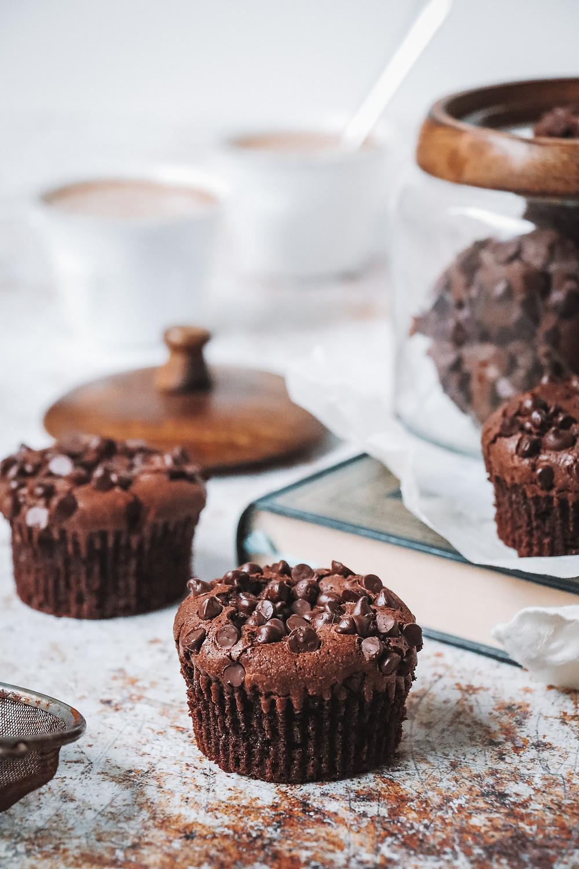 Muffin brownie chocolat, Elodie's bakery