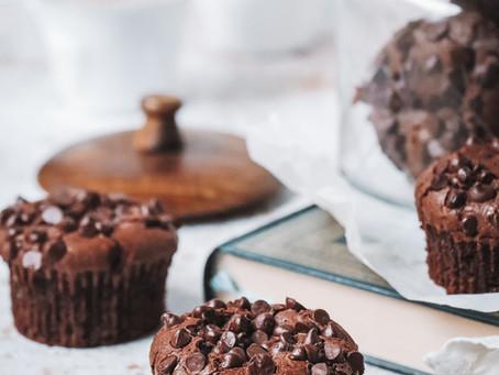 Muffins brownies au chocolat
