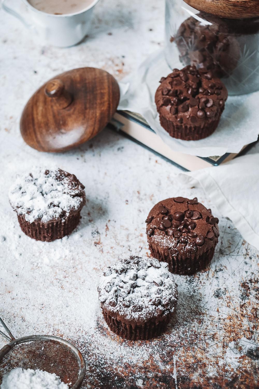 Chocolat muffin brownie, Elodie's bakery