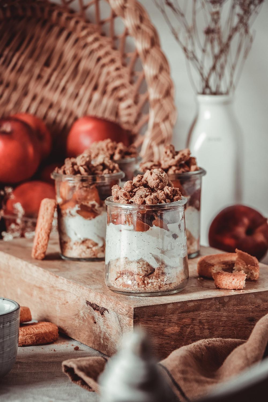 Crumble aux pommes et potimarron, Elodie's Bakery
