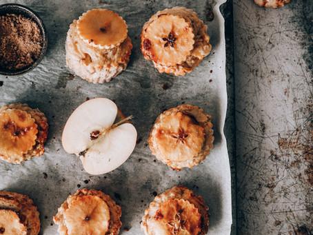 Scones pomme et cannelle