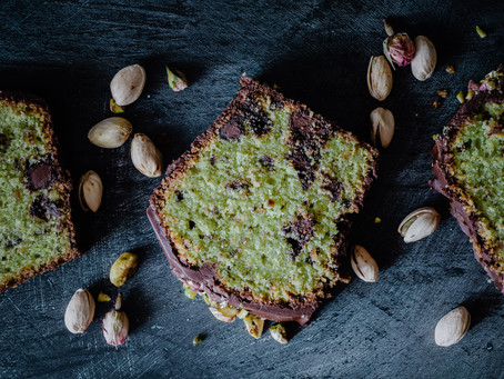 Cake pistache et chocolat