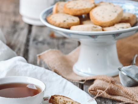 Biscuits au thé Earl Grey et au citron