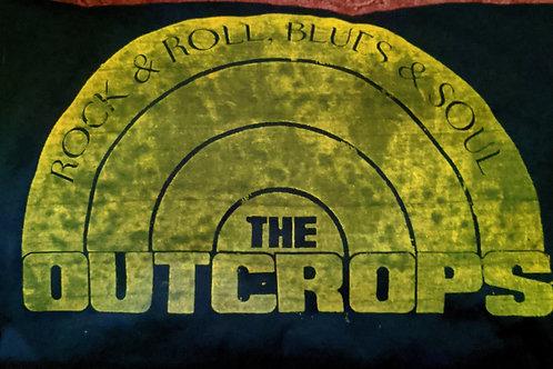 Outcrops Green/Yellow T Shirt