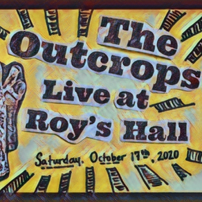 We are headlining Roy's Hall! In person & Livestream Tickets available now