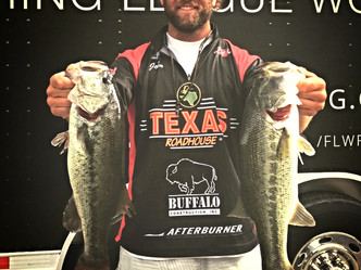 HUNTER FINISHES 9th AT CHICK, LEADS ALL CO-ANGLERS IN FLW TOUR POINTS...