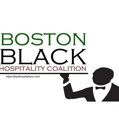Donate to the Boston Black Hospitality Coalition