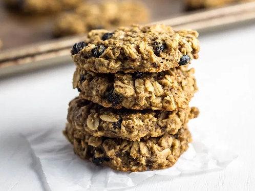 2 Gluten Free Blueberry Almond Oat Cookies