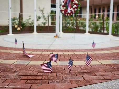 The new Campbell Veterans Memorial Foundation Website