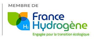 Logo France Hydrogène Membre-verticale