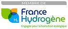 Logo France Hydrogène Membre horizonta