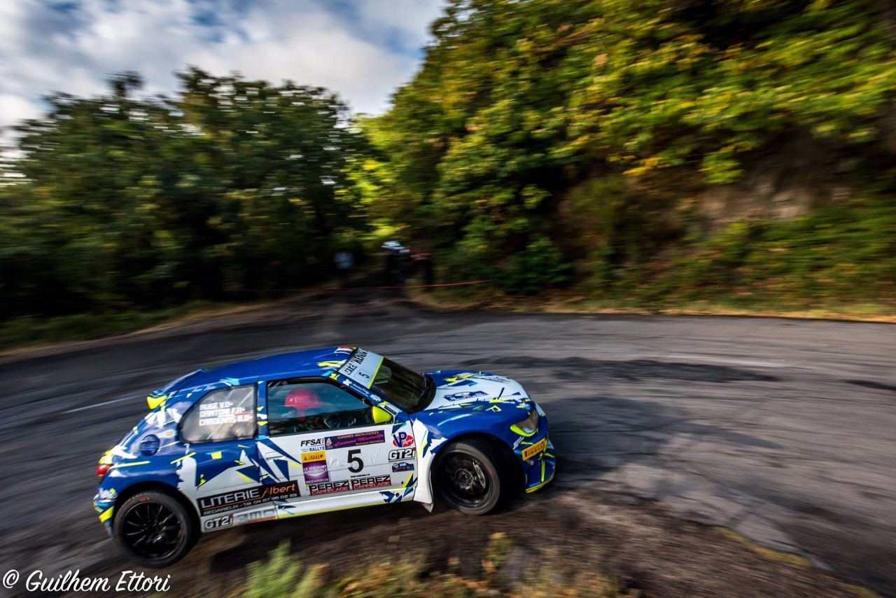 CARDENAS Benjamin / DANTONI Florent Vainqueurs du 3ème rallye de l'Hérault
