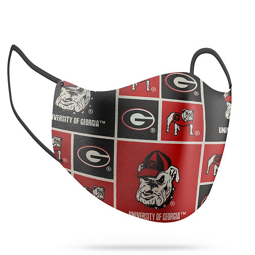 Georgia Bulldogs Cotton Face Mask