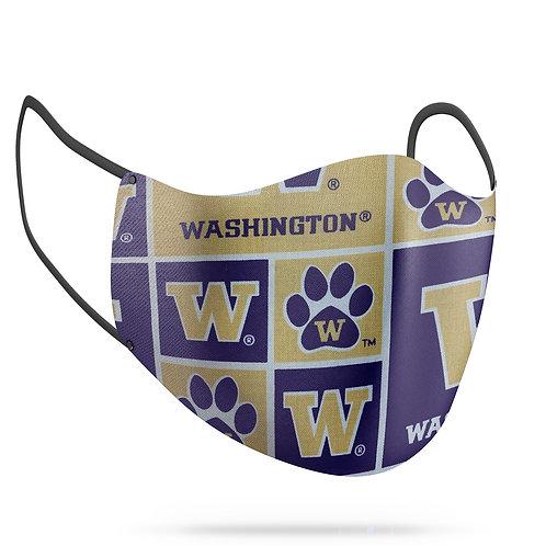 Washington Huskies Cotton Face Mask