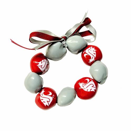 Washington State University Kukui 9-Nut Bracelet