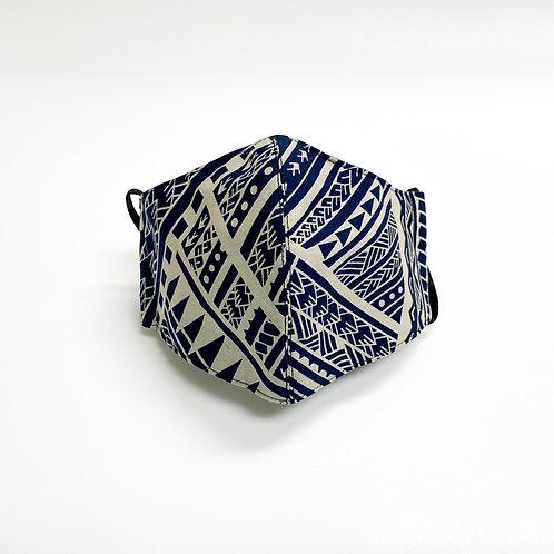 Poly Tatau Print Cotton Face Mask #11