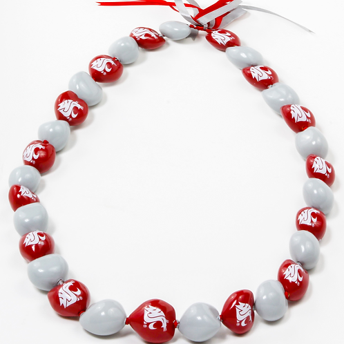 Washington State University -Pullman Kukui Nut Lei