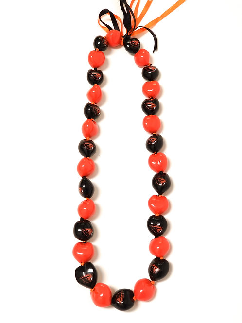 Oregon State Beavers Kukui Nut Lei