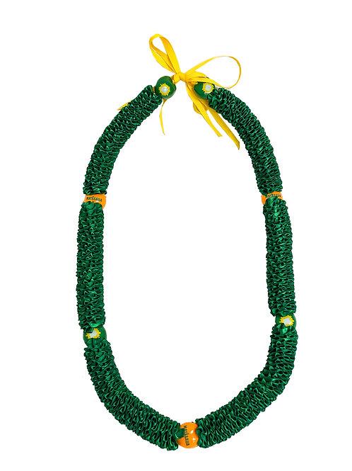 Green Matasaua Ilima with Kukui Nuts