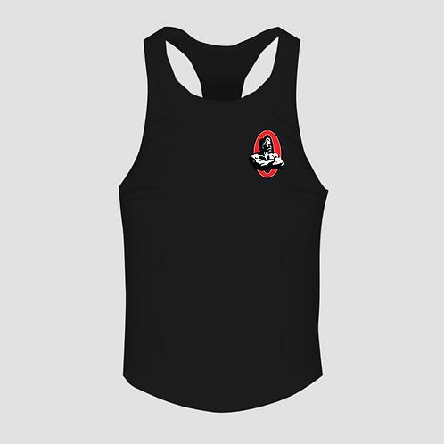 Olympia Black Men's Racerback Tank Top