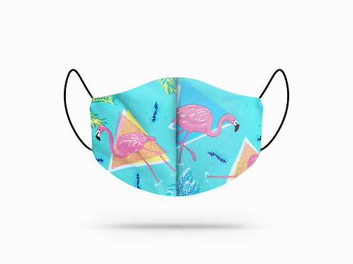 Flamingo Cotton Face Mask