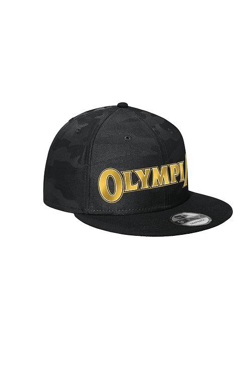 Olympia Camo Flat Bill Snapback Cap