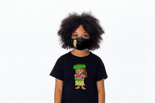 Vahine Moemoea Mask and T-shirt Combo