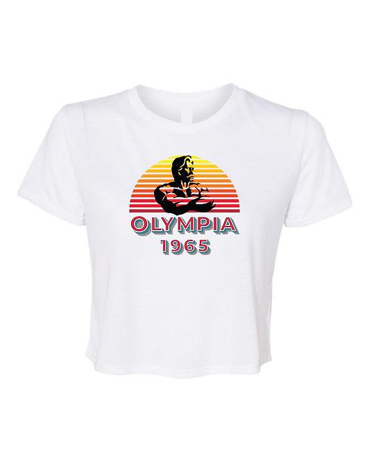 Retro Olympia 1965 Crop Tee