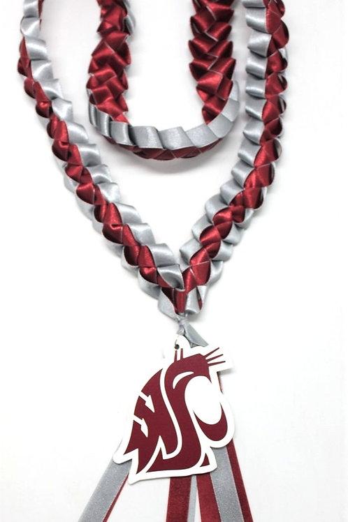 Washington State - Pullman Ribbon Lei
