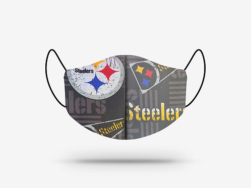 Pittsburgh Steelers Cotton Face Mask