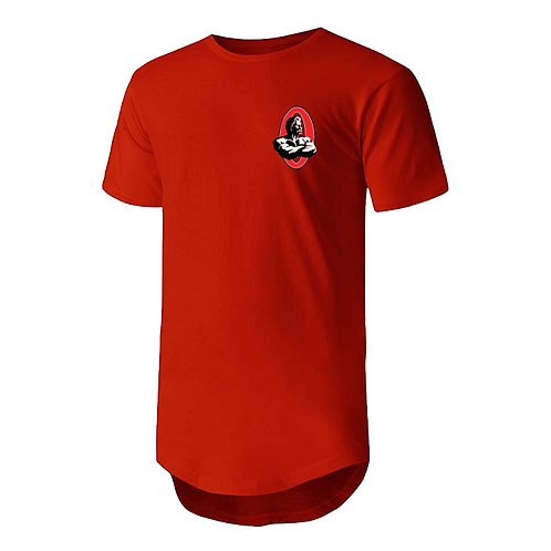 Olympia Red Drop Tail Tee