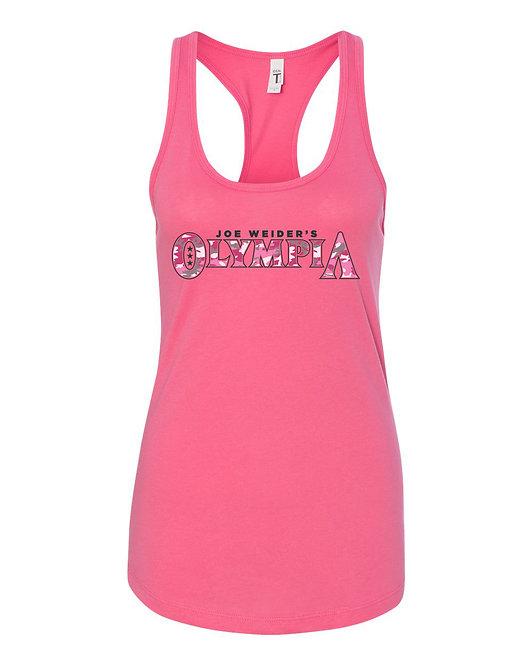 Pink Camo Olympia Tank Top
