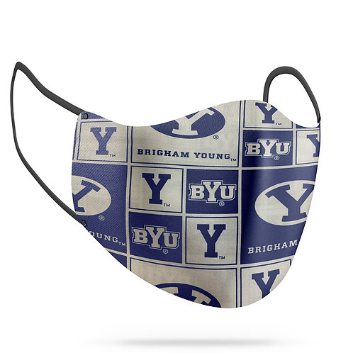 BYU Cotton Face Mask