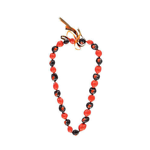 Cleveland Browns Kukui Nut Lei