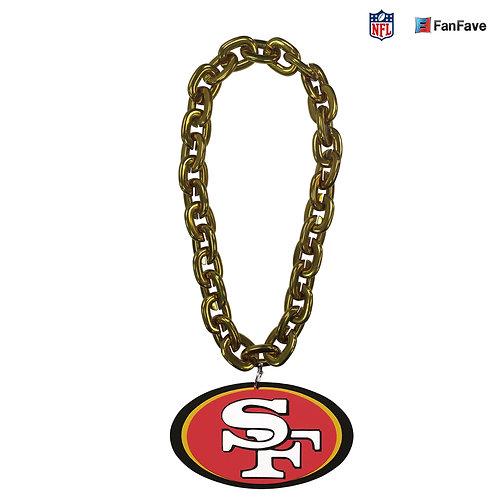 San Francisco 49ers Touchdown Chain