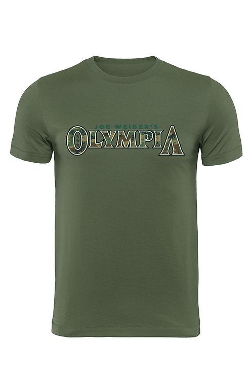 Green Camo Olympia T-Shirt