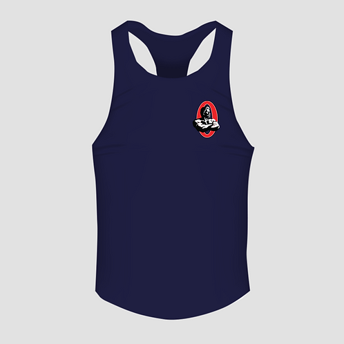 Olympia Navy Men's Racerback Tank Top