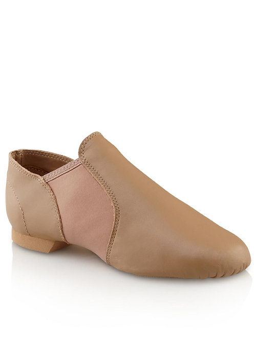 Capezio Jazz Shoes - Slip on - Tan - SKU EJ2