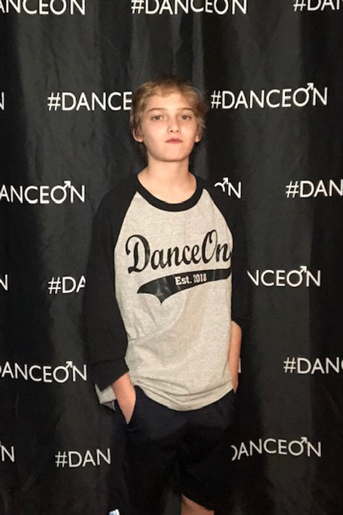 DanceOn Baseball 3/4 Tee Shirt