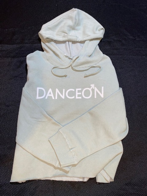 DanceOn Sage Green Half Hoodie