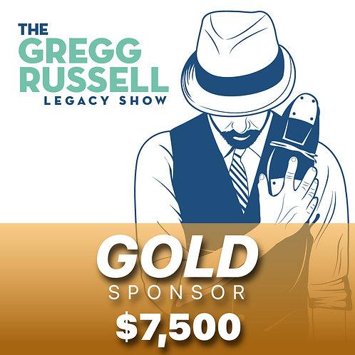 Gregg Russell Legacy Show $7,500 Gold Sponsor