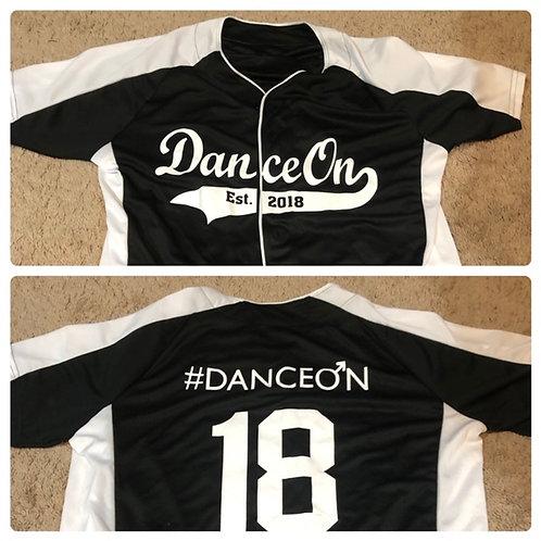 DanceOn 2018 Commemorative Baseball Jersey