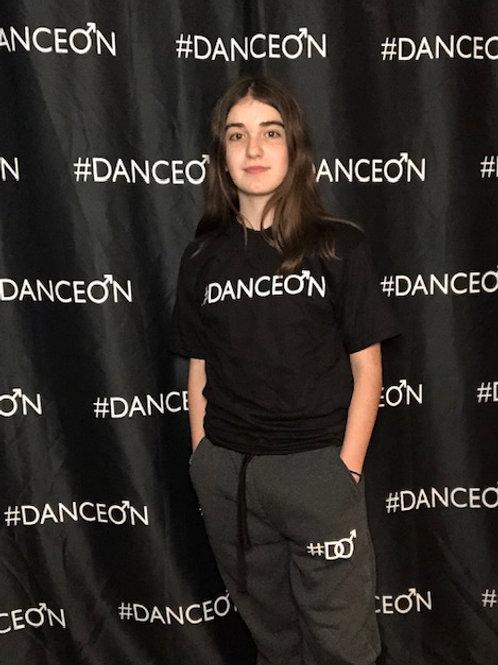New DanceOn Logo Gray Jogger Pants