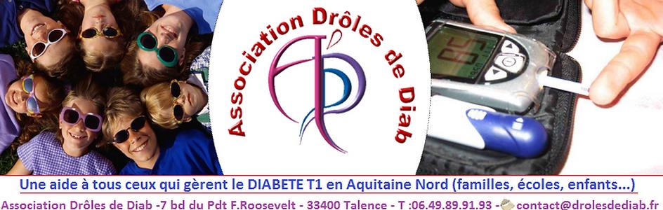 association droles de diab aquitaine enfant diabete