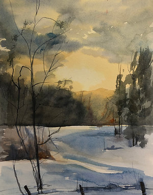 Vinter i Vassbo