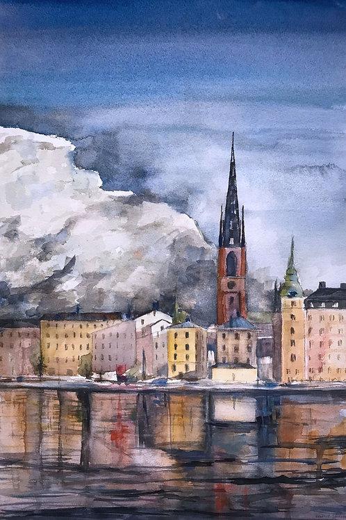 Stormen river (Riddarholmen) - 50x70 cm